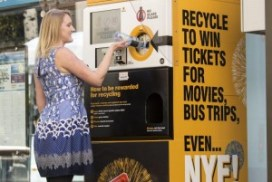 Container recycling Vending Machine