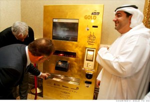 Gold Vending machine