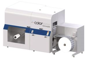 Van Zalinge Colordyne CDT3600 inkjet labe printer