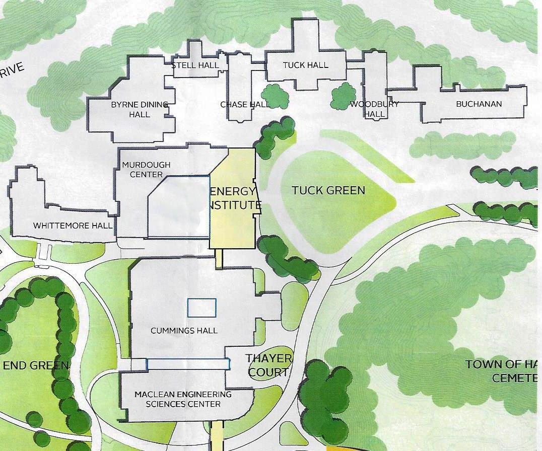 Location Dartmouth Energy Institute