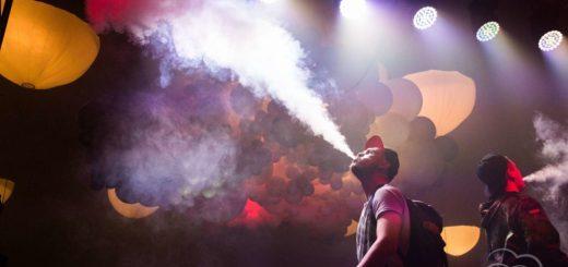 Producir mucho vapor con el cigarrillo electrónico