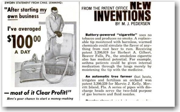 Smokeless Non-Tobacco Cigarette en Popular Mechanics