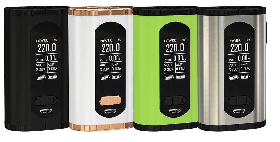 Eleaf Invoke 220W Box Mod – £18.99 delivered