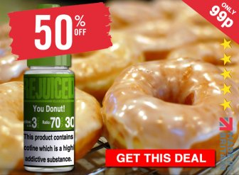 Rejuiced Donut Eliquid Cheap UK