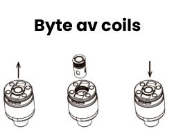 Byte vaporesso coils
