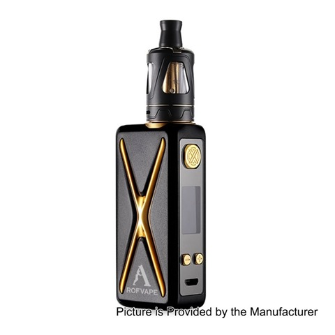 authentic-rofvape-witcher-xer-90w-tc-vw-variable-wattage-box-mod-tank-kit-black-790w-1-x-18650-2ml-22mm-diameter