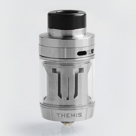 authentic-digiflavor-themis-rta-rebuildable-tank-atomizer-dual-coil-version-silver-stainless-steel-5ml-27mm-diameter