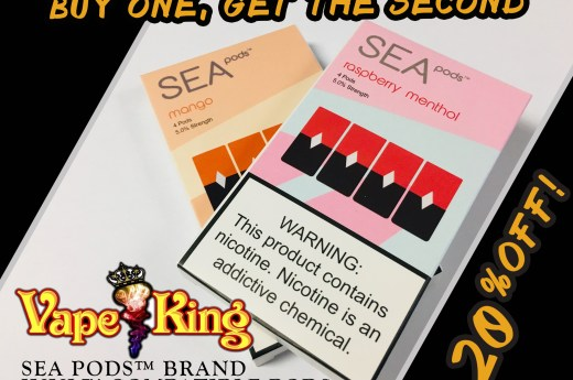 Sea Pods™ – JUUL™ Compatible Pods Special!