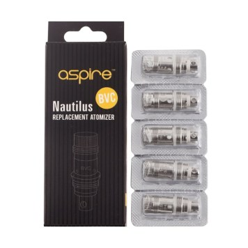 ASPIRE NAUTILUS BVC Replacement Coil (5-p)