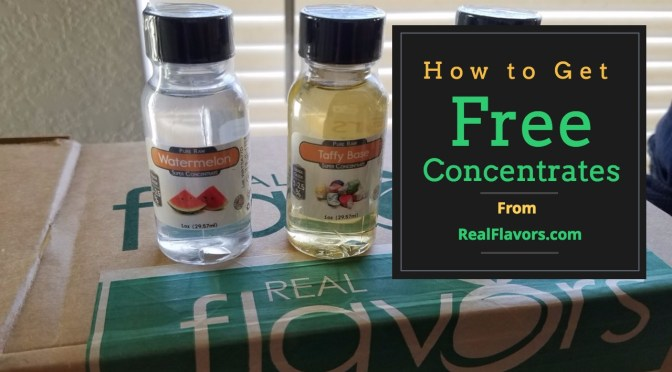How to Get Free Concentrates from RealFlavors.com