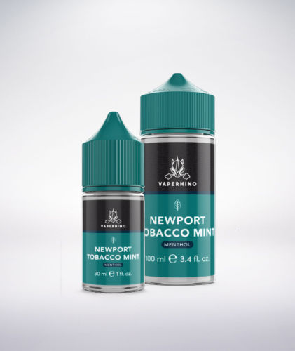 VapeRhino Newport-Tobacco Mint eLiquid