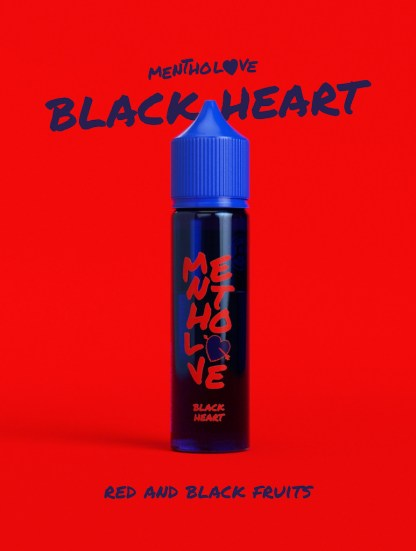 Mentholove - Black Heart E-Liquid