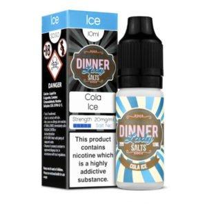 Cola Ice 10ml Nicotine Salt Eliquid Bottle With Box By Dinner Lady