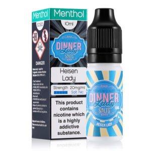 Heisen Lady 10ml Nicotine Salt Eliquid By Dinner Lady Salts