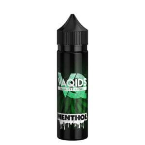 Vaqids Menthol 50ml Eliquid Shortfill Bottle New Label