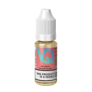 Vaqids Berry Burst Nic Salt Eliquid 10ml Bottle