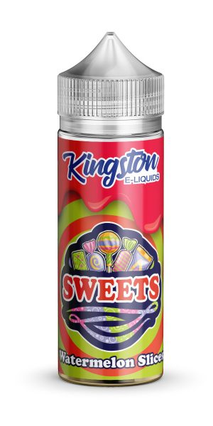 KINGSTON SWEETS WATERMELON SLICES 120ML
