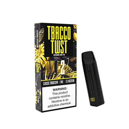 Authentic classic tobacco by Tobacco Twist disposables Device pack of 2 UAE