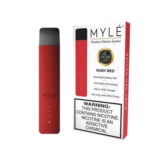 MYLÉ Ruby Red Vape Device