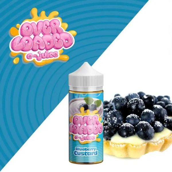 Blueberry Custard
