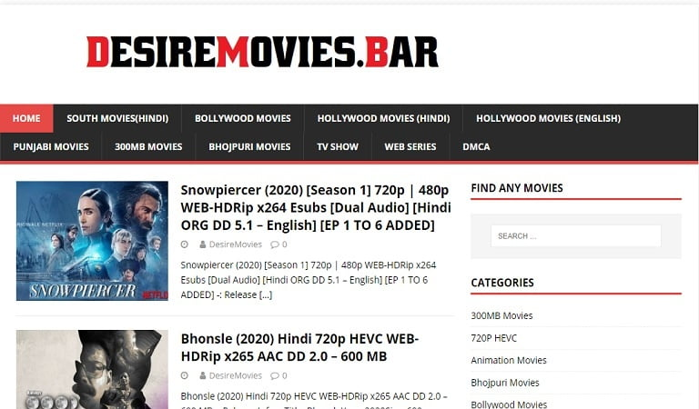 DesireMovies 2020 | DesireMovies Site | FREE Movies |