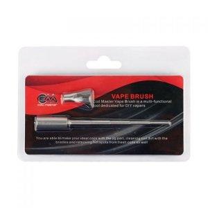 Coil Master 100% authentique Coil Jig et acier inoxydable Vape brosse outil polyvalent