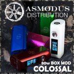 Asmodus Colossal Boîte Mod 80 W (sans nicotine)