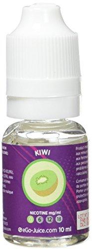 eGo-Cigarette eLiquide eGo-Juice Kiwi sans Nicotine
