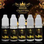 NOVEL E-liquide L3 Cigarette Electronique Liquide 5 X 10ml pour Cigarette Electronique sans Nicotine ni Tabac avec 50% VG 50% PG SAVEURS