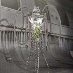 WJMT Shisha Narguilé, 70cm de Moderne en Verre Narguilé Narguilé Pipe avec Hookah Accessoires