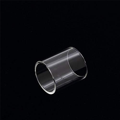 Fang-denghui 1pc Remplacement Pyrex Tube en Verre FIT for SMOK TFV4 Atomiseur réservoir 24.5mm Diamètre 5ml Capacité (Couleur : Clair)