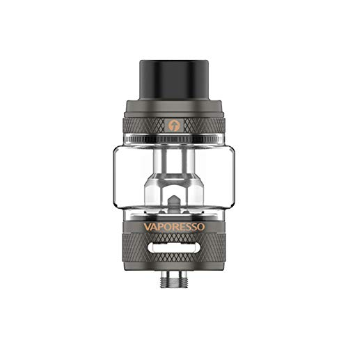Original Vaporesso NRG-S Tank Atomizer 8ml Capacity Compatible With GT Cores & Easy push-to-fill system Fit GEN S Kit Matte Gray