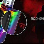 Smok X-priv 225W TC Mod Plein Écran Kit avec TFV12 Prince Tank 8ML Cigarette Electronique Kit Complet – Sans Nicotine (Prism Pistolet)