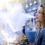 YONGCHY Ensemble de Fumer narguilé Portable Shisha, Chicha en Silicone, adapté aux familles Bars Clubs,Bleu
