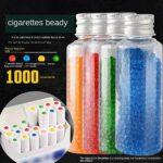 EAsTCHem Menthol Lot de 1000 capsules pour cigarettes aromatiques – – Goût menthe,