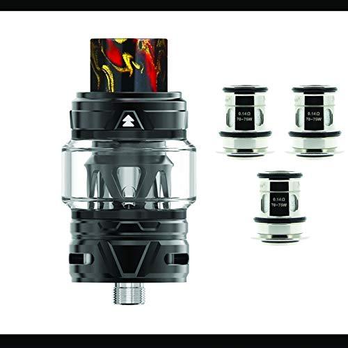 Pack Clearomiseur Falcon 2 Horizontech 5,2 Ml + 1 paquet de résistances – NOIR – Sans tabac ni nicotine