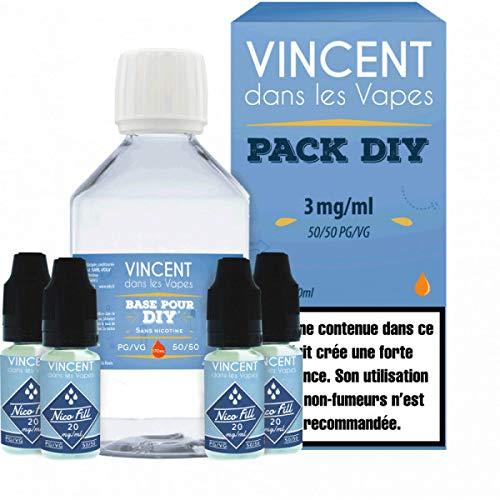 Pack DIY 210ml 50/50 3mg VDLV