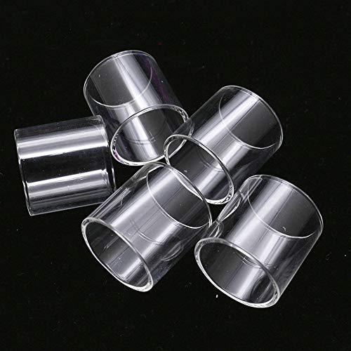 Pang-qingtian 5pcs Remplacement Effacer Pyrex Fit pour Tube de Verre de Godria Bolt RTA 24mm