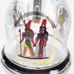 WJMT 79cm Tall Shisha Copper |Narguilé Chimique Head pleut Complet Style café véritable égyptien oeesha Couleur Or