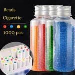 Menthol Capsules Aromatiques DIY Explosion Boule Click Filtre pour Cigarette Standard Aroma Infusion 1000 Capsules,Black Ice Mint