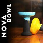 SmokeLab Tête de narguilé Phunnel Nova Bowl M – Qualité supérieure – Tête de narguilé – Jaune