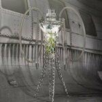 WJMT 70cm Verre de Hookah Shisha Moderne Narguilé Narguilé Narguilé Accessoires for tuyaux, avec