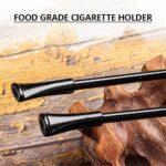 N A Longue Pipe à Fumer du Tabac, Pipe à Fumer en Bois Faite à la Main, kit de Pipe Parfait pour débutant pour Tous Les Amateurs de Tabac