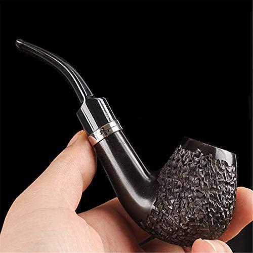 N A Pipe à Fumer du Tabac en Bois, Pipe à Fumer en Bois de Sculpture à la Main, kit de Pipe Parfait pour débutant pour Tous Les Amateurs de Tabac