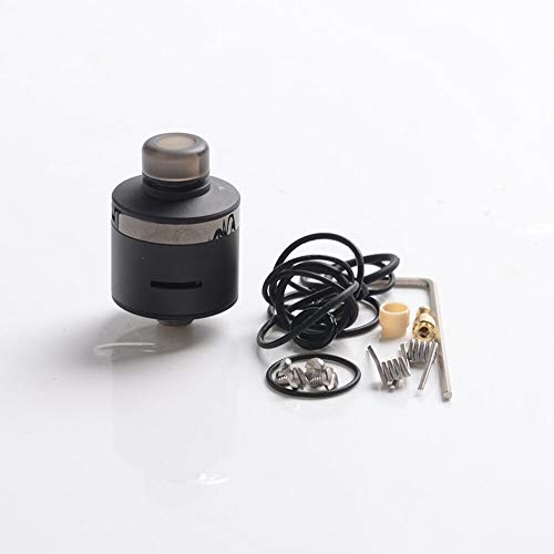 Douille V3 RDA 22 mm DLC Black + Gun Metal Services BP Mods Argenté Acier