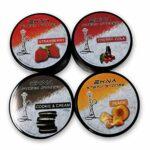 EKNA Steam Stones Lot de 4 tabac à chicha sans nicotine 120 g