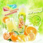 E-Liquid CITRON ORANGE MANDARINE | 50ML TPD | ELIQUID FRANCE | Sans Nicotine NI TABAC | E-Liquide pour Cigarettes Electroniques – E Vaper Liquids 70VG/30PG