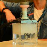 Foyer KITOSUN Céramique Premium Phunnel avec Revêtement émaillé Compatible avec les Systèmes de Chauffe Type Lotus Consomme 20 Grammes de Goût Chicha Tirage Fluide Grosse Fumée (Rose bleu)