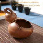QW Creative rétro Gourde cendrier personnalité Salon Bureau Chambre cendrier en céramique ménage