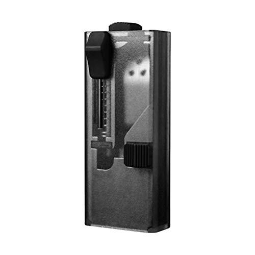 ZYHZP Boîte à poussée de la capsule de filtre bricolage, tige de poussée de perle d'explosion de cigarette portable, fabricant de cigarettes de perle d'explosion, accessoires fumeurs faciles à utilise